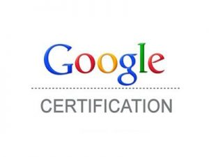 Google Certifications Tina Arnoldi